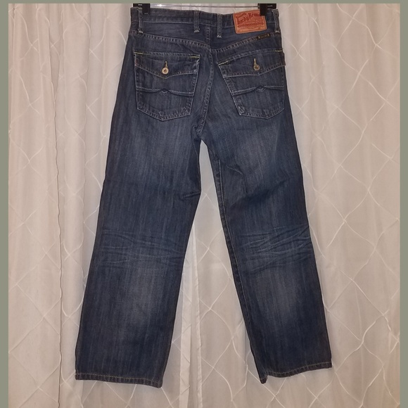 Lucky Brand Other - Mens Lucky Jeans dark stone wash 29 Short !